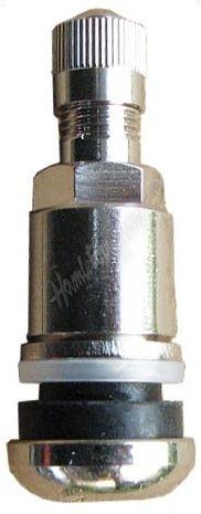 TR 525 – kovový bezdušový ventil (stříbrný)