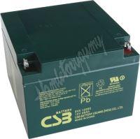 Záložní akumulátor CSB EVX12260I (12V 26Ah  350A)