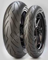 Pirelli Diablo Rosso III 120/70 ZR17 + 160/60 ZR17