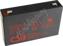 CSB Baterie HRL634W F2 6V 9Ah