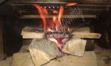 Podkrkonošský podpalovač z dřevité vlny, 100ks 6cm+- po 1150g, hořeí cca 6 - 10minut
