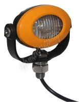 911-E33A PROFI LED výstražné světlo 12-24V 3x3W oranžové ECE R65 92x65mm