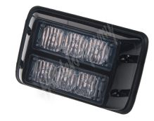 kf003dblu x PREDATOR dual 6x1W LED, 12-24V, modrý, ECE R10