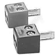 13027 Reproduktorový konektor DIN se šroubky (pár)