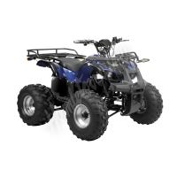 56150 Elektro čtyřkolka ATV 40 km/h. 1200W 60V/20Ah modra, tažné zařízení