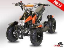Dětská dvoutaktní čtyřkolka ATV Cobra 2 49ccm oranžová + el. start