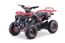 Dětská dvoutaktní čtyřkolka ATV MiniHummer Deluxe 49ccm E-start červená