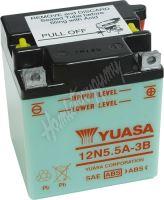 Motobaterie Yuasa 12N5,5A-3B (12V, 5,5Ah, 58A)