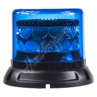 911-C24fblu PROFI LED maják 12-24V 24x3W modrý 133x110mm, ECE R65