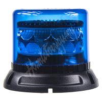 911-C24fblu PROFI LED maják 12-24V 24x3W modrý 133x86mm, ECE R65