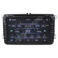 """80891 Autorádio pro VW, Škoda s 8"""" LCD, GPS, multicolor, ČESKÉ MENU"""