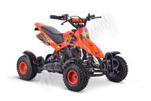 Dětská dvoutaktní čtyřkolka ATV Nitro SIOS 49ccm oranžová